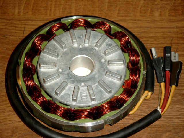 ducati roundcase bevel engine alternator conversion rh willyg homelinux org Ford Alternator Wiring Ford Alternator Wiring